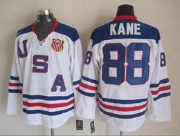 Черный хоккей джерси продажа онлайн-#19 Джонатан Toews #88 Патрик Кейн 2017 Зима классический белый CCM черный красный 75-й Чикаго Блэкхокс хоккей трикотажные изделия для продажи