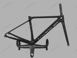 Wholesale Light Racing Bike - 2016 T800 Ultra Light UD Carbon Road Bike Frame Racing Bicycle Frame+Fork+Seat Post+Headset+Handlebar+(BB68 or BB30 adapter) XXS,XS,S,M