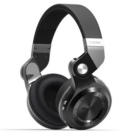 Wholesale T2s Headphone - Orignal Bluedio T2S(Shooting Brake) Bluetooth Headphone BT version 4.1 built-in Mic Bluetooth Headset for phone calls&music