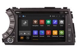 Wholesale Dvr Usb Tv - Android 5.1 Car DVD Player GPS Navigation for Ssangyong Kyron Actyon with Radio BT USB DVR Audio Video Stereo WIFI 1024*600 4Core