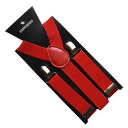 Wholesale Elastic Straps Braces Suspenders - Via Fedex DHL, Candy Colors Kids Y-back Suspenders Adjustable Clip on Elastic Braces Children Belt Baby Straps, 200PCS