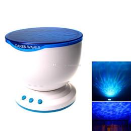 multi luzes coloridas noite Desconto Casa de moda Multicolor Romântico Aurora Mestre Casa Luz LED Projector de Luz Onda Do Oceano Vida E00405 BARD