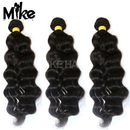Wholesale 5a Unprocessed Virgin Human Hair - 5A Grade Indian Virgin Hair Malaysian Peruvian Mongolian Cambodian Unprocessed Natural Wave Human Hair Bundles