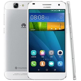 Wholesale Huawei Ascend Dual Sim - Original Huawei Ascend G7 4G LTE Cell Phone 5.5Inch MSM8916 Quad Core 2G RAM 16G ROM Android4.4 13.0MP Camera