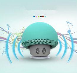 Wholesale Cars Bookshelf - Fashion Mushroom Bluetooth Portable Speaker Car Speakers with Sucker Mini Portable Wireless Subwoofer for Mobile Phones Tablet PC
