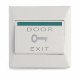 Wholesale Exit Push Button Access Control - Wholesale-Electric Door Lock Door Strike Release Button Exit Push Release Switch Access Control Electric Door Lock Strike