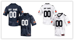 Wholesale Auburn Tigers Football Jersey - Mens Auburn Tigers Custom College Football Limited Jerseys #34 #2 #7 #43 #90 #21 #6 #80 Navy Blue White Stitched Personalized Jerseys S-3XL