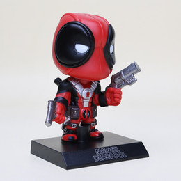 Wholesale Hot Men Toys - Funko Pop Anime X-Men Deadpool Figure Cosplay Action Figure Juguetes Model Hot Kids Toys 13.5cm Free Shipping