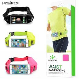 2019 lg экраны для телефонов CS004 - с подарком - 3 цвета 2 выбора сенсорного экрана функция мульти-карманный Спорт талии сумка для мобильного пояса для мобильного телефона работает сумка дешево lg экраны для телефонов