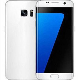 Wholesale Goophone Free Shipping - goophone s7 edge clone Metal frame Android 6.0 5.5 inch 13MP Smartphone cell phone real 1GB 8GB Free Shipping