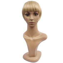 Wholesale Ship Hair Clip Bangs - Wholesale-Fashionable 35G Good Quality Synthetic Clip In Hair Bang Free Shipping Soft Blonde Hair Bang WB341G073