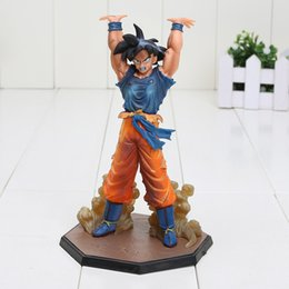 Wholesale new dragon ball figures - 16cm New Arrival Dragon Ball Z Son Goku Spirit Bomb Ver. Battle Namek PVC Figure Toy