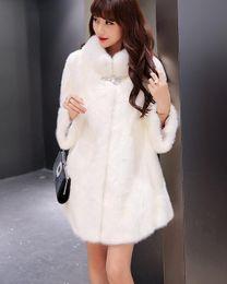 Wholesale Vest Fur Real Fox - New Inverno Fox Fur Vest Mulheres Gilet Completa Pelt Quente Luxo Real Natural Fox Fur Colete Bolsos 2017