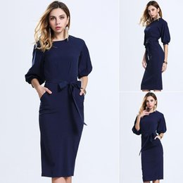 Wholesale Ladies Suits For Cheap - Dress Summer 2016 Europe Station Chiffon In Skirt European Suit-dress Bodycon Cheap Dresses Woman For Womens Clothing Ladies