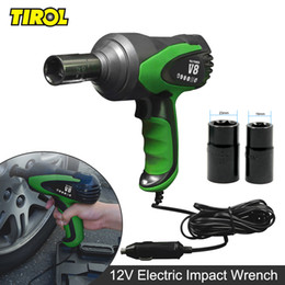 Wholesale Tool Kit For Car Repair - Electric Impact Wrench Car Tire Repair Tool Installation Wrench 12V Set For Occasional Emergency Use