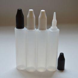 Wholesale E Cigarette Juices - Fast Shipping Unicorn Bottle 15ml 30ml Plastic Bottle Pen Shape with Child Proof Caps For E Cigarettes E Juice Free Shipping