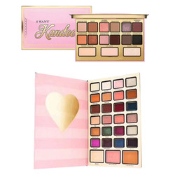 Wholesale Army Face - rand Faced Boss Lady Beauty Agenda Eyeshadow Palette I Want Kandee Palette Best Year Evei 2018 Christmas