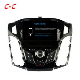 Wholesale ford focus android radio - HD 1024*600 Quad Core Android 5.1.1 Car DVD Play for ford Focus 2012 with GPS Navigation Radio Wifi Mirror link DVR
