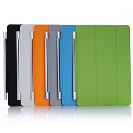 Wholesale Tablet Pc Metal Case - Smart Cover for ipad Mini 4 3 2 1 retina Tablet PC Leather Case Magnetic Stand covers