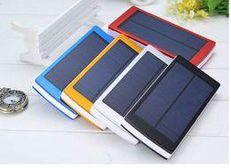 Wholesale Solar External Battery Laptop - New Solar Power Bank 300000mah Portable External Battery Charger For Smart Phone
