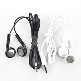 Wholesale Apple Iphone Jack - 3.5mm Jack Stereo In-Ear Earphone Metal Headphone Built-In Microphone Headset Earbuds for Smart Cell Phones