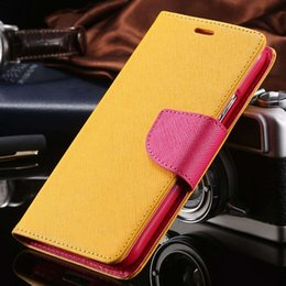 Wholesale S3 Case Logo - Luxury Wallet Stand Flip Case for Samsung Galaxy S3 SIII I9300 Colorful Leather Phone Accessories Logo Cover Bags Cute Custom S3