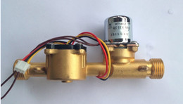 Wholesale Gas Solenoid Valve - From China Whole sale flowmeter with 24v 3 4'' brass solenoid valve integration max water pressure 2.0mpa with wholesale price
