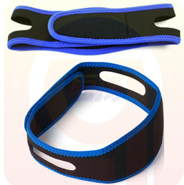 Wholesale Chin Straps - Anti Snoring Chin Strap Neoprene Stop Snoring Chin Support Belt Anti Apnea Jaw Solution Sleep Device 2016 New