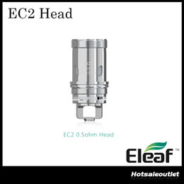 Canada Authentique tête de bobine Eleaf EC2 0,3ohm / 0,5ohm tête bobine EC 2 Vape pour Eleaf Melo 4 Atomizer / iKuun Kit cigarette électronique Offre