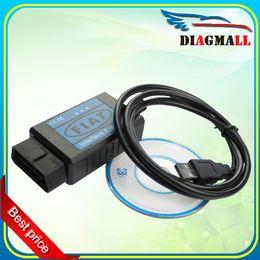 Wholesale Diagnostic Scan Tools For Fiat - 2016 Newest Profession Fiat Scanner OBD OBD2 Diagnostic USB Cable Fiat Interface USB Scan Tool For Fiat USB Fiat Scanner