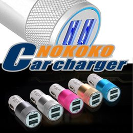 Wholesale Charging Port Lg - Dual USB Port Car Charger Universal 2 USB Fast Charging Adapter 2.1A for iPhone iPad Samsung