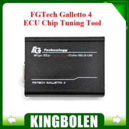 Wholesale Galletto Obd Tuning - 2016 Free Shipping Fgtech Galletto 4 Master V54 FG Tech V54 BDM-TriCore OBD ECU Chip Tuning Tool