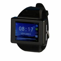 Wholesale High End Digital Watches - High end hot sale digital camera an1 smart watch Smart Watch Phone Quadband Android 4.1 MTK6515 Dual Core 512MB Smartwatch