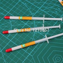 Vente en gros - 10 pièces LOT Aiguille Type de Tube Blanc Heaksink Composé Pâte Thermique ? partir de fabricateur