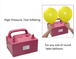 Wholesale Electric Air Balloon Pump Inflator - 680W Electric balloon pump with timer, air inflator pump with CE certificate