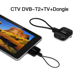 Wholesale Tv Tuner T2 - USB DVB-T2 Receiver DVBT TV Tuner Stick DVB-C T2 HD TV on Android Phone PC Laptop with USB OTG USB tuner pad TV Reciever