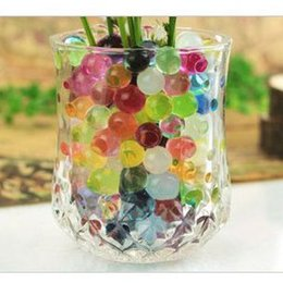 Wholesale Gel Beads For Plants - 5kg New Magic 1 kilogram stunning Crystal Mud Soil-Water Beads gel For plants 10 color bulk pack O#16