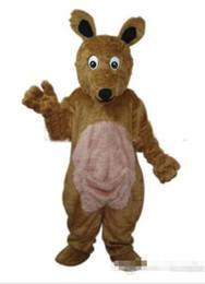 Wholesale Kangaroo Costume Sale - Hot sale long hair Kangaroo adult size mascot costume Size : S M L XL XXL