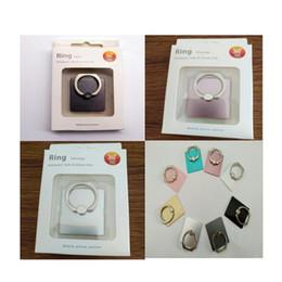 cartão de plástico para placa de plástico Desconto Stents telefone móvel 8 cores para escolher a partir de suporte de anel de telefone Móvel 360 ° girando o suporte de telefone grátis shippingNZ5XPPQE8E