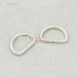 "Wholesale Welded D Ring Wholesale - 3 8"" 10mm 500 pcs   Lot Non Welded Dee Rings for Webbing D Buckle Bag Craft F128F3"