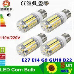 Wholesale Cree Led Light Bulbs Sale - Hot sale LED Corn bulbs GU10 E27 G9 E14 9W 12W 15W 18W LED bulbs super Bright LED Corn Bulb light Chandelier