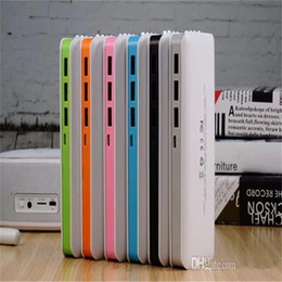 Wholesale Ipad Battery Bank - power bank 16800mAh portable power bank external battery emergency battery for mobile phone tablet pc ipad