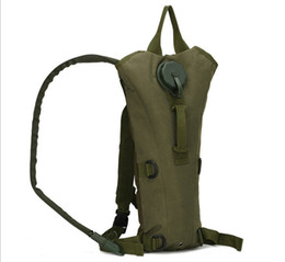 Wholesale Tactical Assault Backpack Hydration - Wholesale 50pcs lot 3L cycling riding Hydration Packs Tactical Water Bag Assault Backpack Hiking Pouch Backpacks Shoulder Bag