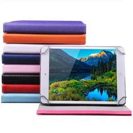 """Wholesale Galaxy Note Tablet Accessories - Universal 7"""" 8"""" 9"""" 10"""" inch tablet PC case Multicolor crystal lines PU leather cases with stand holder for ipad 2 3 4 air Samsung Tab"""