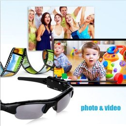Wholesale Good Spy Cameras - good quality hidden camera sunglasses spy cameras 720*480 spy gadgets