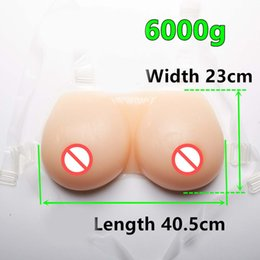 Wholesale Hh Dress - HH Cup Beige 100% silicone breast forms Mastectomy Artificial silicone fake Breast Boobs faux seins for Men cosplay actor travesti dressed