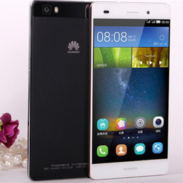 Wholesale Gorilla Cell Phone - free shipOriginal Huawei P8 Lite Unlocked Android Smartphones Octa Core 2GB 16GB 4G LTE Mobile Phone Dual Sim Gorilla Glass 13MP Cell Phones