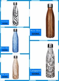 Wholesale Thermal Bottle Warmers - In stock Bottle cola bottle 304 Stainless Steel Vacuum Flask Cup Sports Bottle the best quanlity