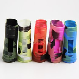 Wholesale Vapor Skins - vapor mod cover skin for istick pico 25W disruptive pattern silicone case Best selling products in usa