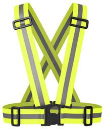 2019 équipement réfléchissant Veste de protection réfléchissante NKTM HAUTE VISIBILITÉ EXCEPTIONNELLE pour la course à pied, le cyclisme, la marche tôt le matin et le soir (Unisexe) promotion équipement réfléchissant